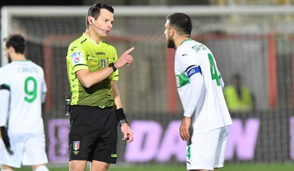 Serie B: turno preliminare dei Playoff, arbitri