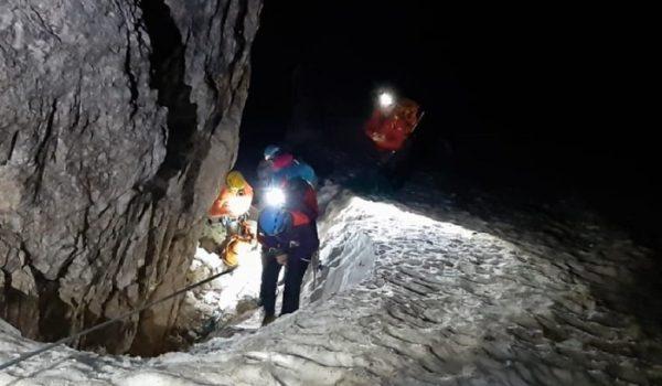 Soccorse nella notte due alpiniste su Cima ovest Lavaredo
